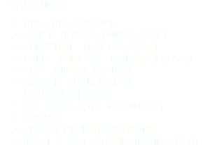 Credits NBC - (ROSEWOOD) SAINTS ROW IV - (VIDEO GAME) SHOWTIME - (RAY DONOVAN) ESPN - (MICHAEL JORDAN CLASSIC) CBS - (ONLINE NATION) OXYGEN - (HAIR BATTLE EXTRAORDINAIRE) CBS FILMS - (THE TO-DO LIST) COPA90 GLOBAL CYCLING NETWORK IMAGE & PICTURE (VIRGIN AIR, UBER)